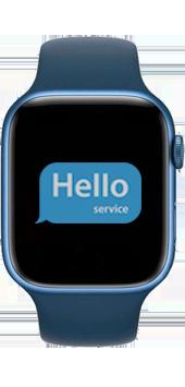 Ремонт замена стекла Apple Watch 7