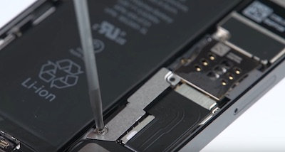 Ремонт замена стекла экрана дисплея iPhone 5s