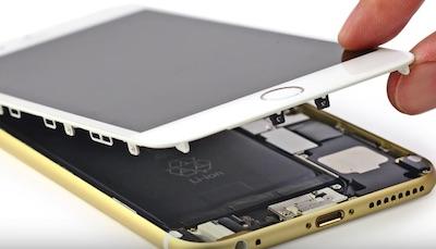 Ремонт замена стекла экрана дисплея iPhone 6 Plus