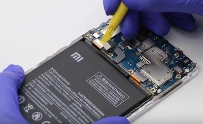 Ремонт замена стекла экрана дисплея Xiaomi Mi Max 2
