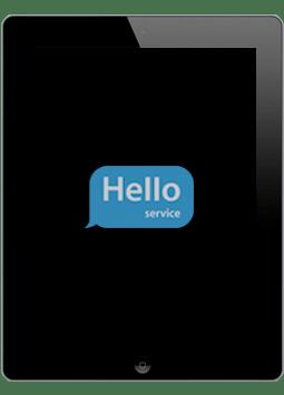 Ремонт замена стекла экрана дисплея iPad 3