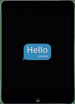 Ремонт замена стекла экрана дисплея iPad Air