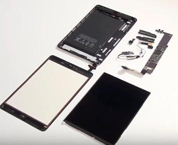 Замена-стекла-экрана-iPad-mini