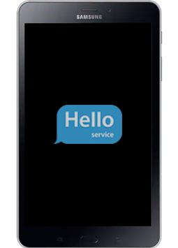 Ремонт замена стекла экрана дисплея Samsung Galaxy Tab A 2017