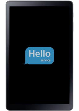 Ремонт замена стекла экрана дисплея Samsung Galaxy Tab A 2018