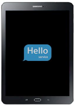 Ремонт замена стекла экрана дисплея Samsung Galaxy Tab S2