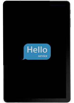 Ремонт замена стекла экрана дисплея Samsung Galaxy Tab S4