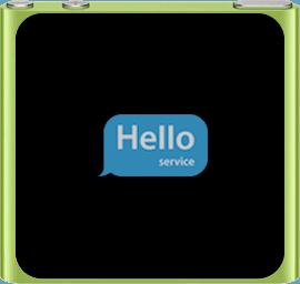 Ремонт замена стекла экрана дисплея iPod Nano 6