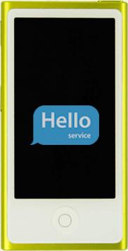 Ремонт замена стекла экрана дисплея iPod Nano 7