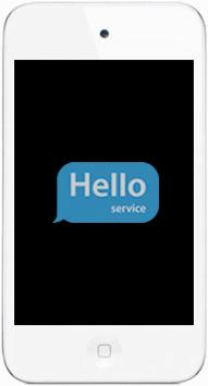 Ремонт замена стекла экрана дисплея iPod touch 4