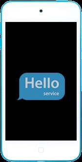 Ремонт замена стекла экрана дисплея iPod touch 5