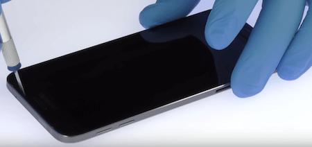 Ремонт замена стекла экрана дисплея Samsung Galaxy A8 Plus 2018