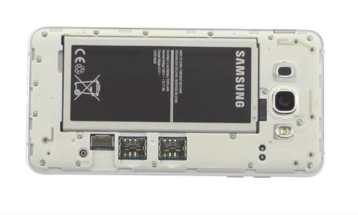 Ремонт замена стекла экрана дисплея Samsung Galaxy J7 2016