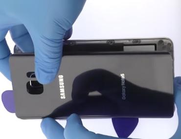 Ремонт замена стекла экрана дисплея Samsung Galaxy Note 5