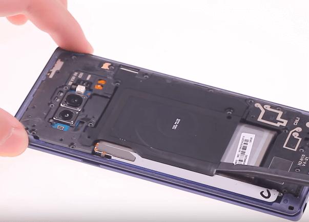 Ремонт замена стекла экрана дисплея Samsung Galaxy Note 9 N960