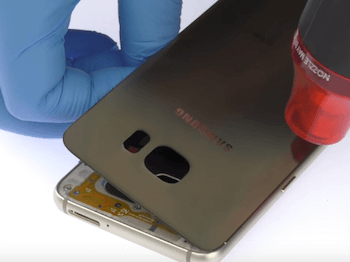Ремонт замена стекла экрана дисплея Samsung Galaxy S6 Edge Plus (G928)