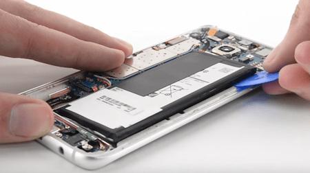 Ремонт замена стекла экрана дисплея Samsung Galaxy S7 edge G935