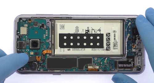 Ремонт замена стекла экрана дисплея Samsung Galaxy S8 Plus
