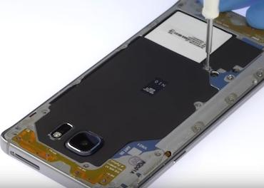 Ремонт замена стекла экрана дисплея Samsung Note 5