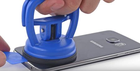 Ремонт замена стекла экрана дисплея Samsung S6 Edge