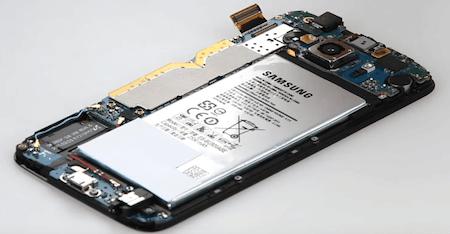 Ремонт замена стекла экрана дисплея Samsung S6