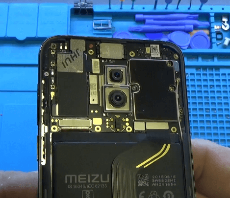 Ремонт замена стекла экрана дисплея Meizu 16th