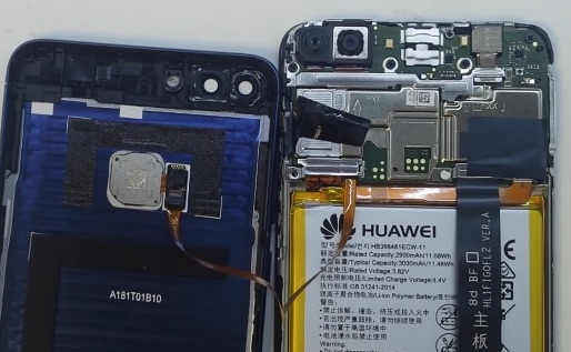 Ремонт замена экрана huawei p smart plus