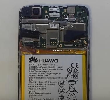 Ремонт замена стекла экрана Huawei P smart