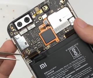 Ремонт замена стекла экрана Xiaomi Mi 5X