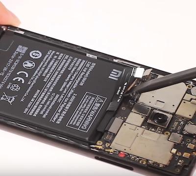 Ремонт замена стекла экрана Xiaomi Mi Mix 2