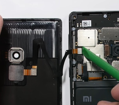 Ремонт замена стекла экрана Xiaomi Mi Mix
