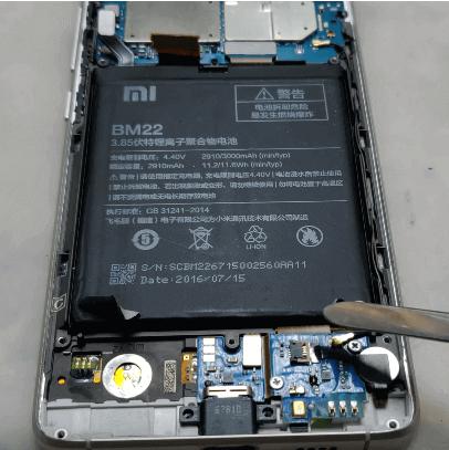 Ремонт замена стекла экрана дисплея Xaomi Mi 5