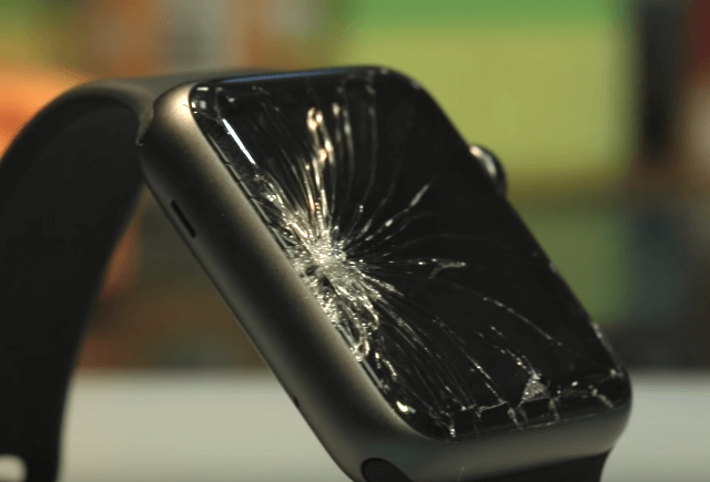 Ремонт замена стекла экрана дисплея Apple Watch