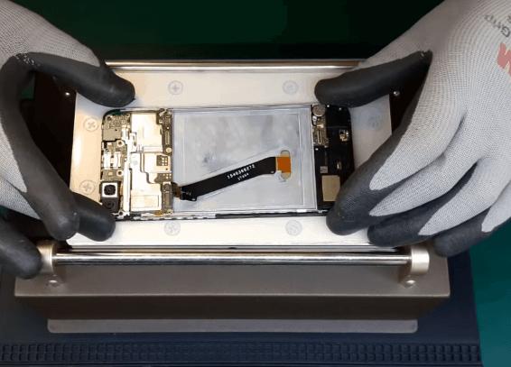 Ремонт замена стекла экрана дисплея Huawei