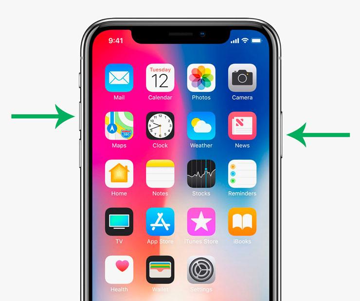 Чтобы сделать скриншот, нужно одновременно нажать на кнопку блокировки и любую кнопку громкости