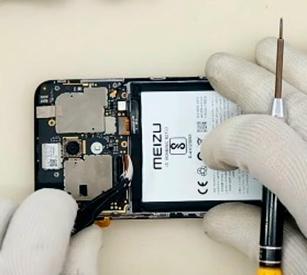 Ремонт дисплея Meizu M8c