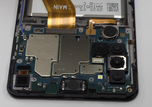 Ремонт замена дисплея Samsung Galaxy A21s