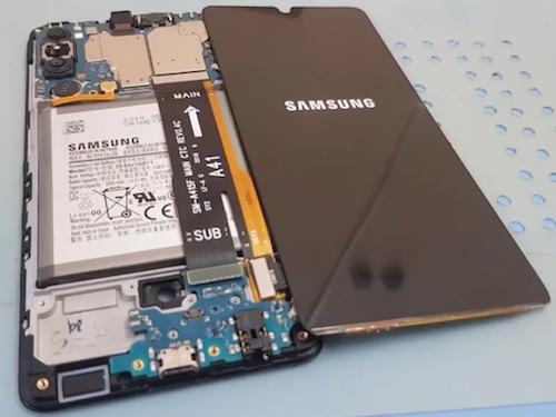 Ремонт замена дисплея Samsung Galaxy A41