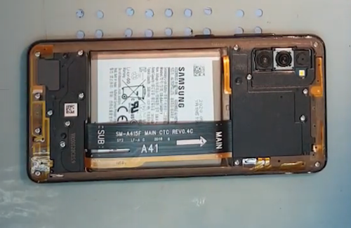 Ремонт замена стекла Samsung Galaxy A41