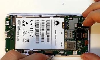 Ремонт замена стекла экрана дисплея Huawei Y3II