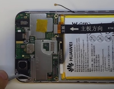 Ремонт замена стекла экрана дисплея Huawei Y6 Prime 2018