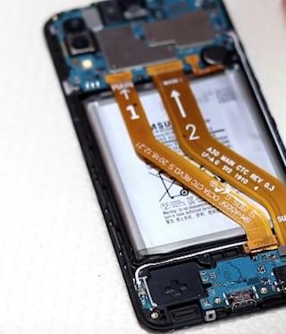 Ремонт замена стекла экрана дисплея Samsung A30