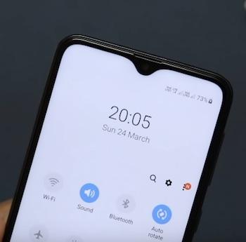 Ремонт замена стекла экрана дисплея Samsung Galaxy A10