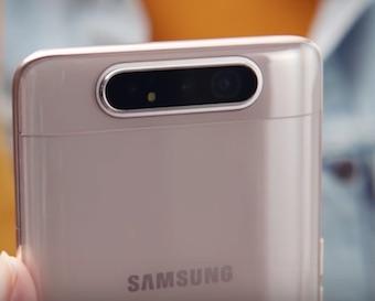 Ремонт замена стекла экрана дисплея Samsung Galaxy A80