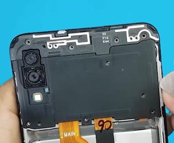 Ремонт замена стекла экрана дисплея Samsung Galaxy M10