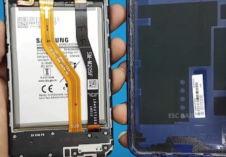 Ремонт замена стекла экрана дисплея Samsung Galaxy M20 (M205)