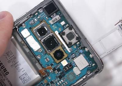 Ремонт замена стекла экрана дисплея Samsung Galaxy S10