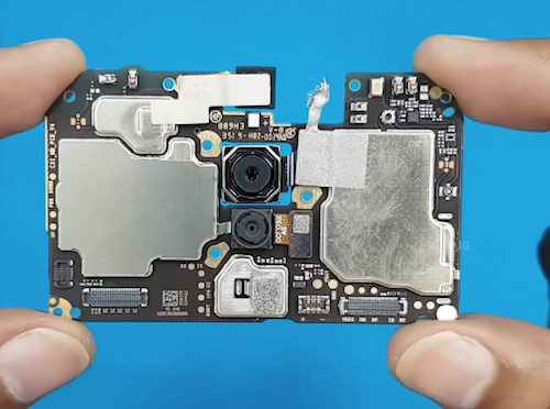 Замена камеры Xiaomi Redmi 8