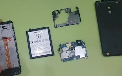 Замена стекла Meizu M5c