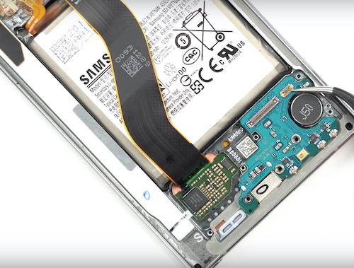 Замена стекла Samsung Galaxy Note 10